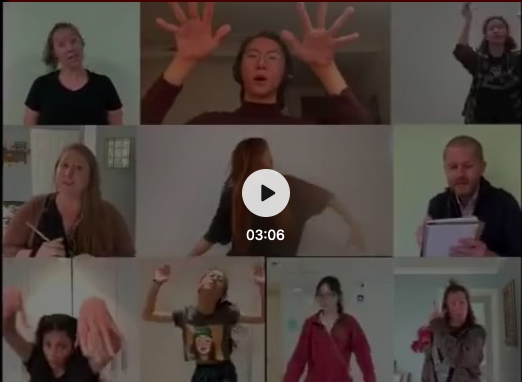 Sing Along with the CISB StageCats Video Revivial