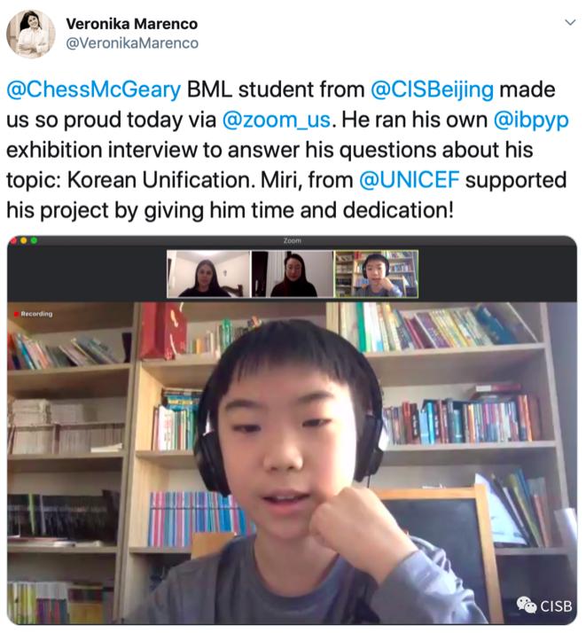 UNICEF rep impressed by CISB
