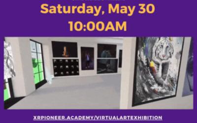 Virtual Art Exhibition, May 30th