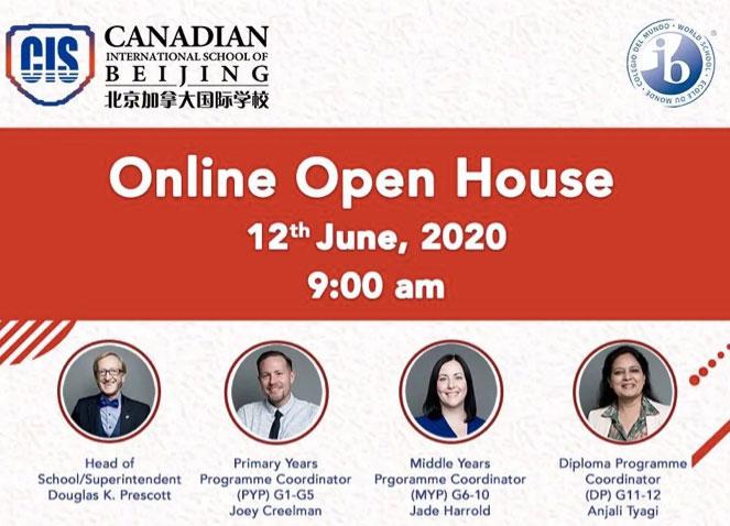 Jun 12 online open house with IB coordinators
