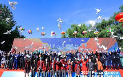 CISB Proud Supporter of the 8th Peace Garden Peace Festival
